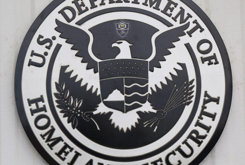U.S. Department of Homeland Security seal.
